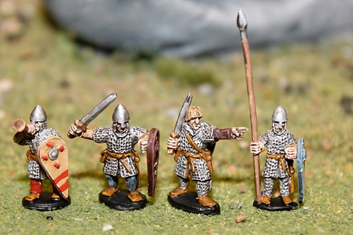 15mm Norman Infantry Command