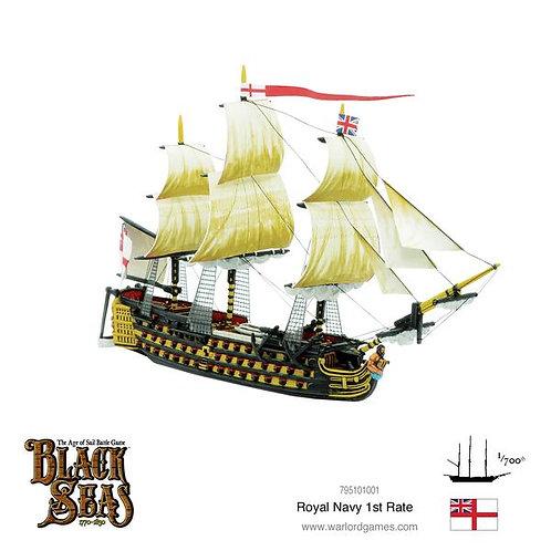 Royal Navy 1st Rate - Black Seas