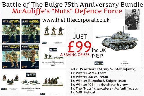"BATTLE OF THE BULGE 75TH ANNIVERSARY - ""NUTS""DEFENCE FORCE"