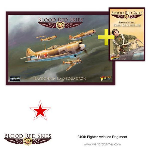 240 IAP (Fighter Aviation Regiment) - Blood Red Skies