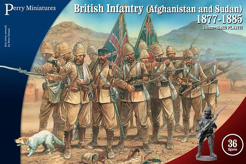 BRITISH INFANTRY (AFGHANISTAN & THE SUDAN) 1877-1885