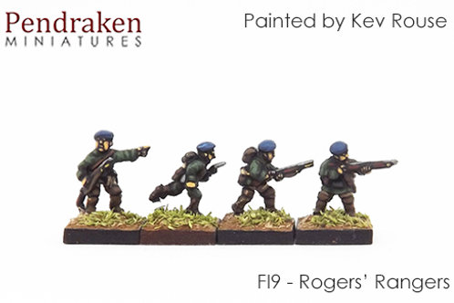 French Indian Wars - British Army Pack