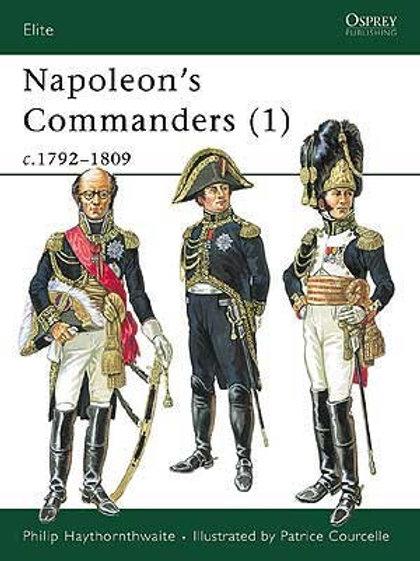 Napoleon's Commanders (1) 1792-1808