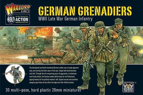 GERMAN GRENADIERS (PLASTIC BOX SET)