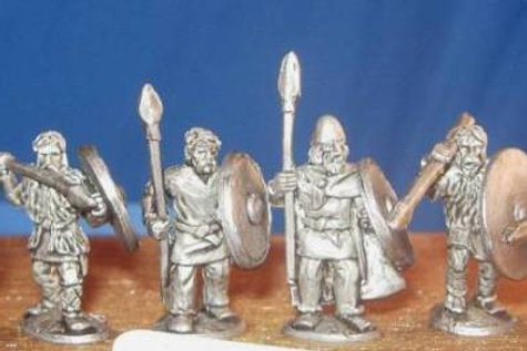15mm Early Saxon Medium Infantry (3)