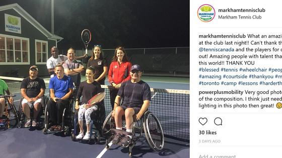 Wheelchair Tennis Comes to MTC