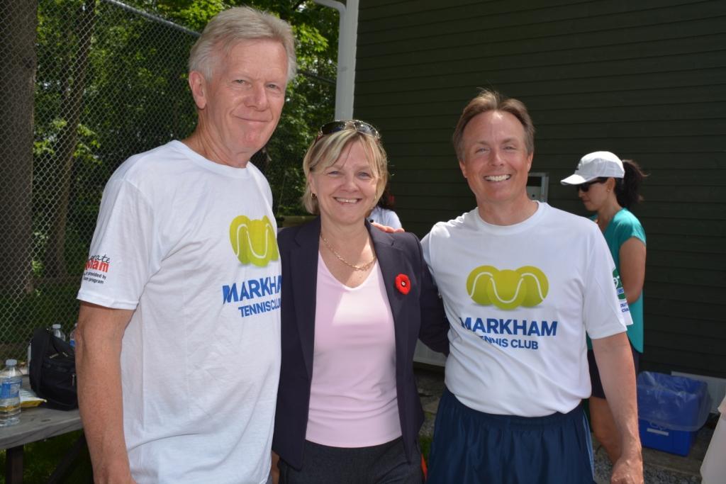 Dave, Karen and Scott