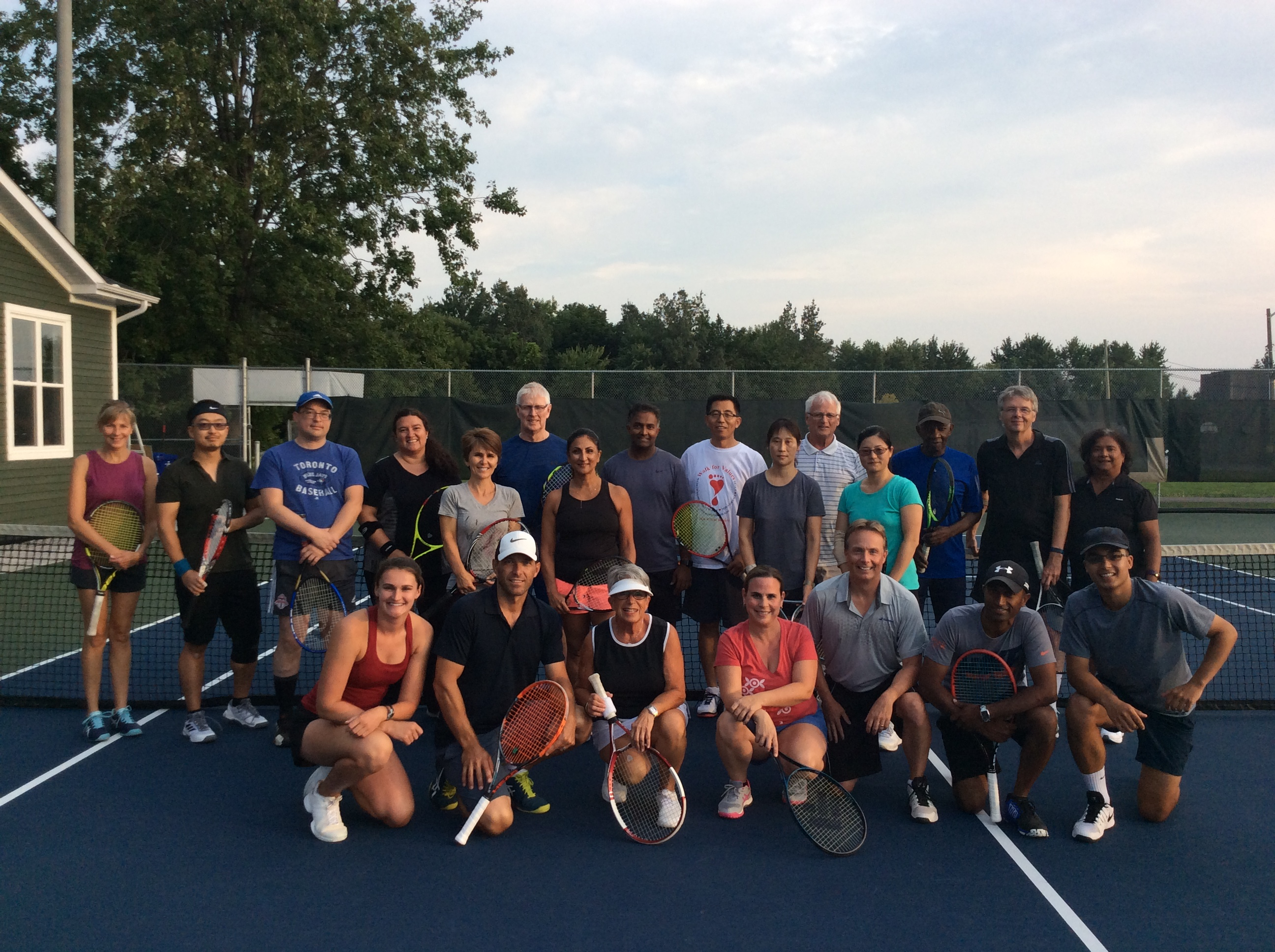 18 Strong at Cardio Tennis!
