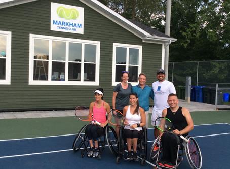 Wheelchair Tennis Returns to MTC