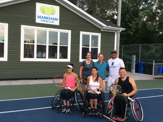 Wheelchair Tennis Returns to MTC