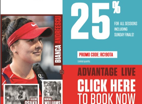 Save on Rogers Cup Tickets With Special OTA Promo Code!