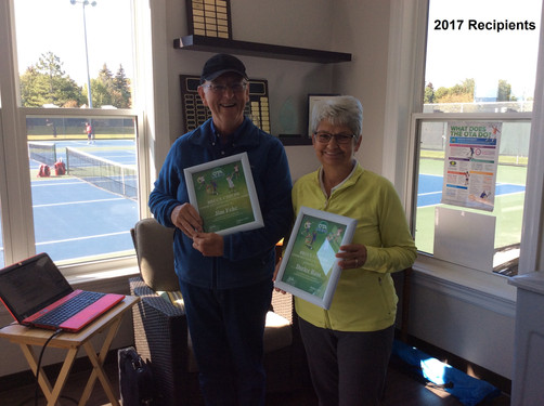 2017 Bruce Child's Volunteer Award Winners