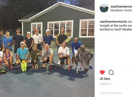 Cardio Tennis Social - Fun & Punishment Working in Harmony!