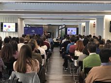 Panel Inspiración ODS con más de 300 personas en Sevilla.