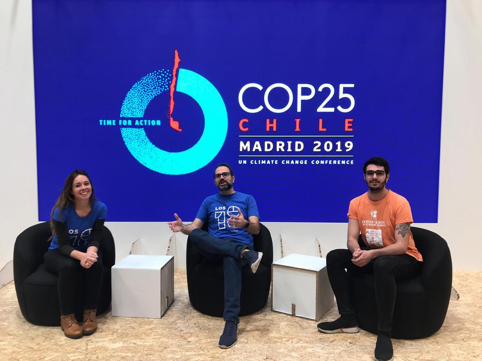Participación en la COP25