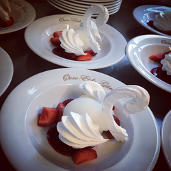 Nydelig dessert i selskapslokalet