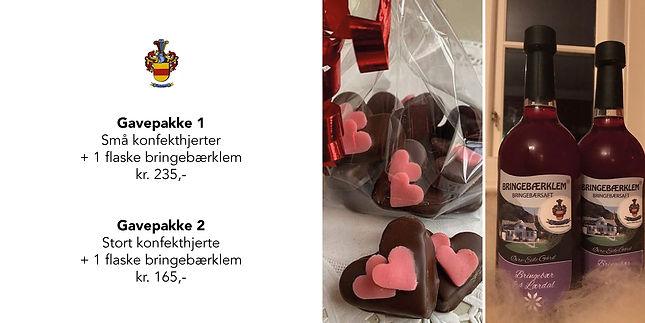 Morsdagsgaver og gaver til Valentines