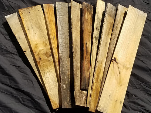 35 square feet (approx) of craft wood boards for projects