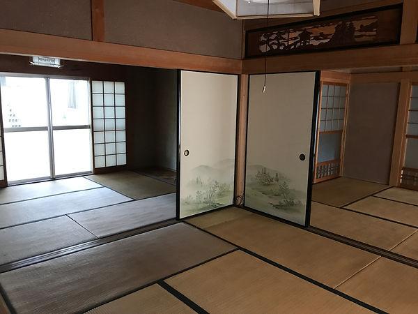 下田原の居間