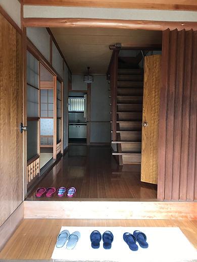 下田原の玄関
