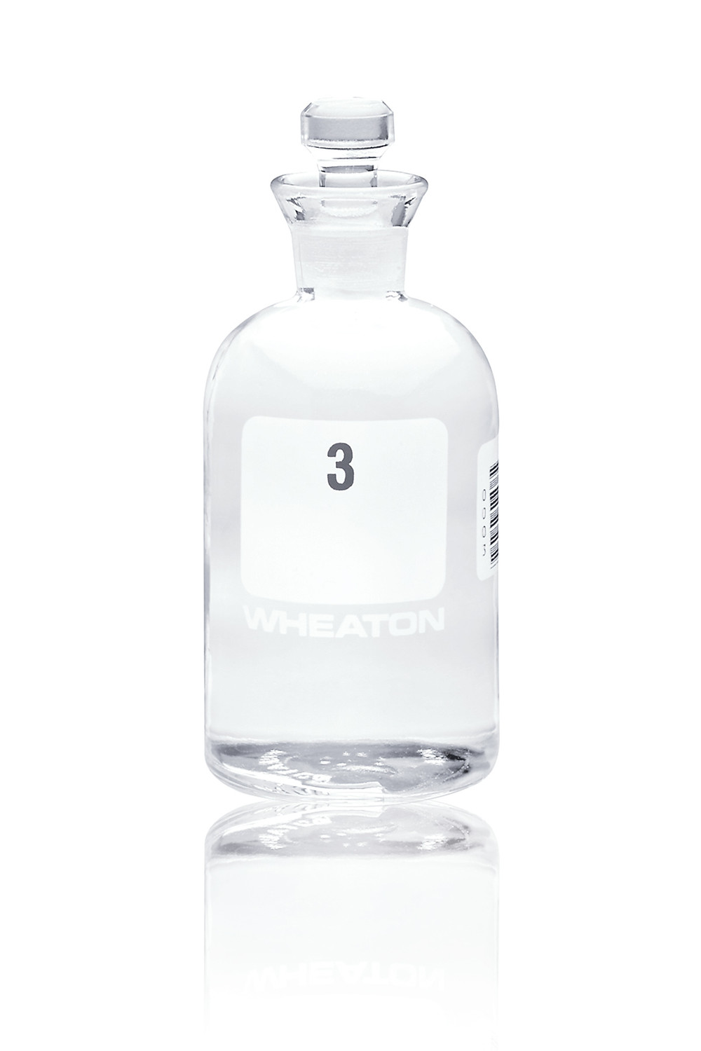 Wheaton BOD Bottle with Glass Robotic Stopper