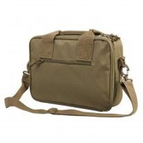 VISM® by NcSTAR® DOUBLE PISTOL RANGE BAG/ TAN