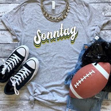 "Grey ""Sonntag"" Shirt"