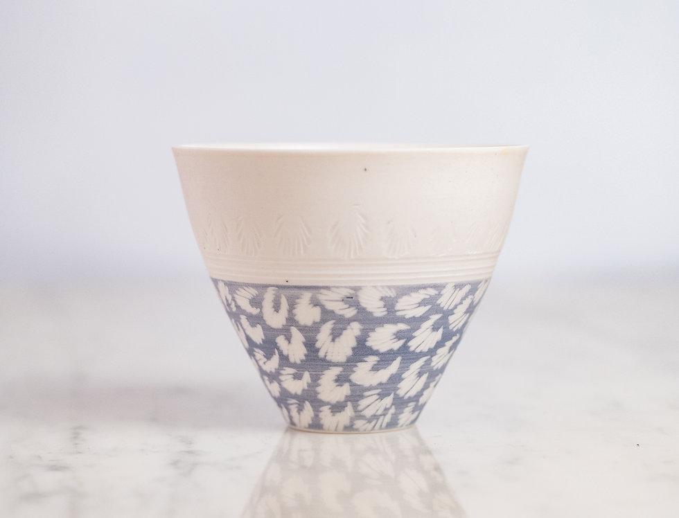 Trace Organique - Petit bol bleu