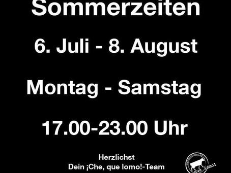 Sommerferien!!!