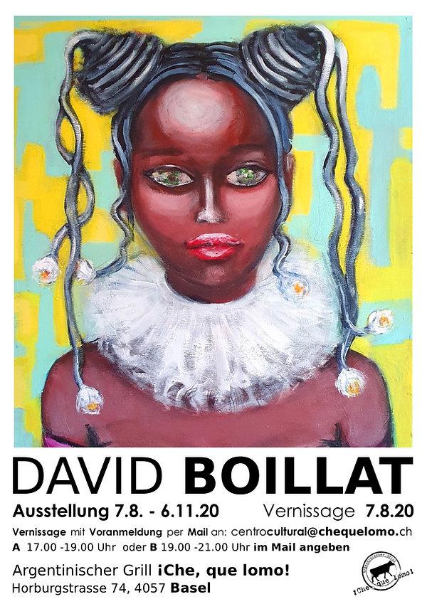 flyer_flyerline-David Boillat Ausstellun