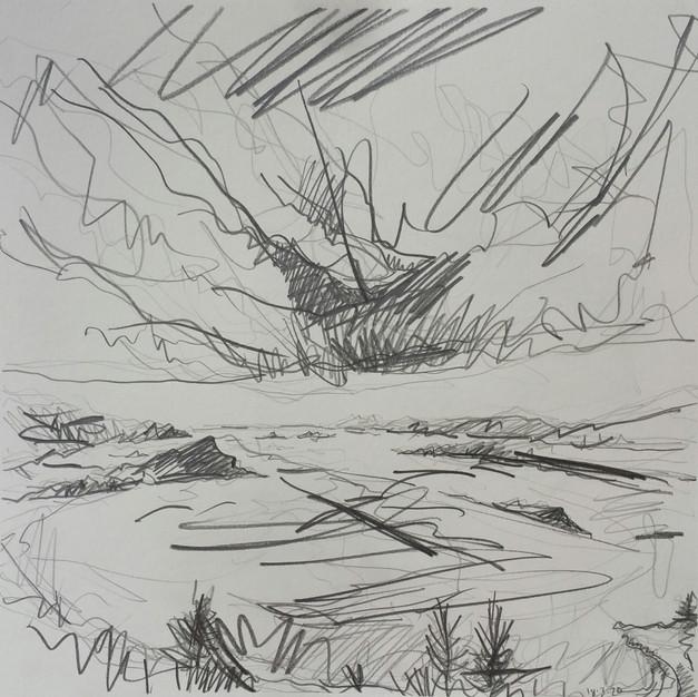 Jura Sky Drawing