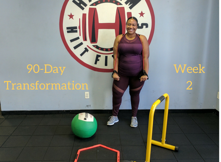 90-Day Transformation Week 2: I'm Back And I'm (Slightly) Better