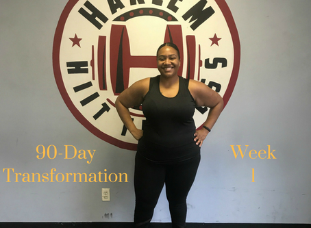 90-Day Transformation Week 1: I Wasn't Ready
