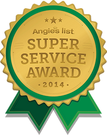 Angie's List Super Service Cleaning Award 2014 - AYS Up North