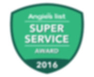 Angie's List Super Service Award 2016 - AYS Up North