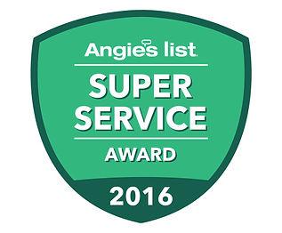 Angie's List Super Service Award 2016 - AYS Up North