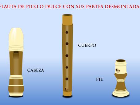 Posiciones en la flauta dulce
