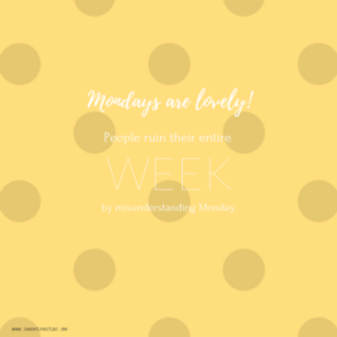 monday-is-lovely