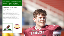Jack Ryan earns NCFA National Player of the Week honors for Week 7