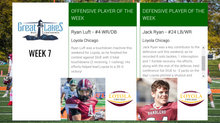 Ryan Luft, Jack Ryan take home Week 7 Conference Players of the Week honors