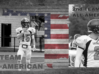 Knibbe, Huiras Jr. take home All-American Honors