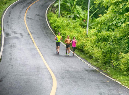 Runners! Fifteen Centimeters can make a Big Difference.