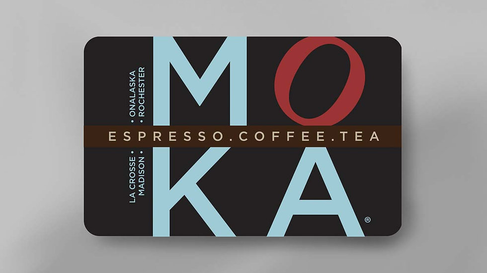 MOKA Gift Cards (pack of 3 - $10 cards)