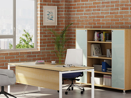 What is office desk modern history
