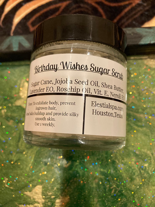 Birthday Wishes Sugar scrub