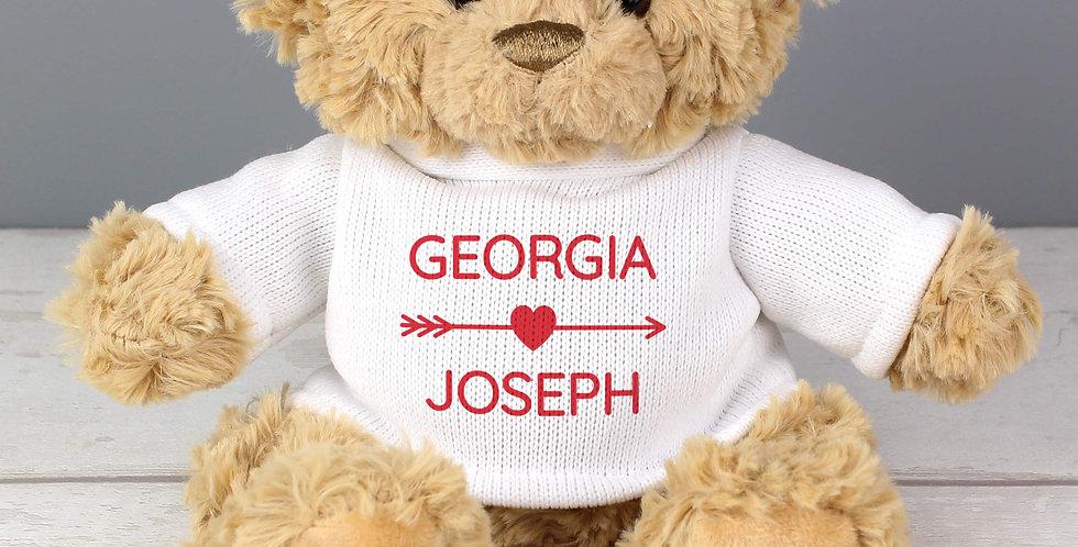 Couple In Love Teddy Bear