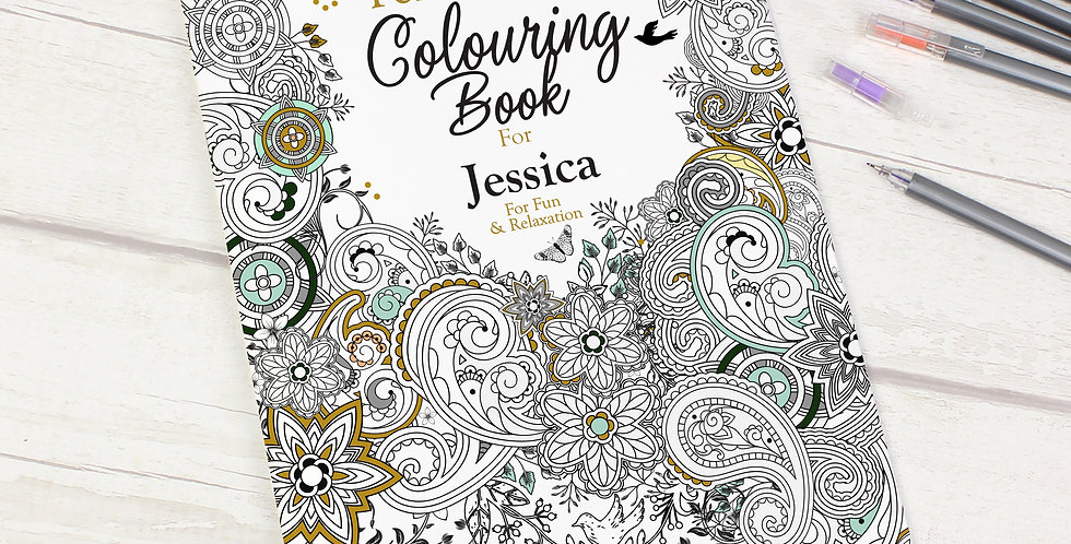 Botanical Colouring Book