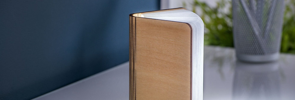 Smart Booklight Mini  - Natural Wood