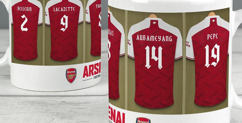 Arsenal Football Club Dressing Room Mug