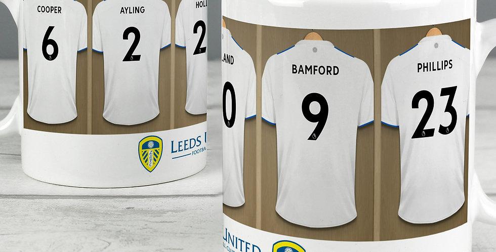 Leeds United Football Club Dressing Room Mug